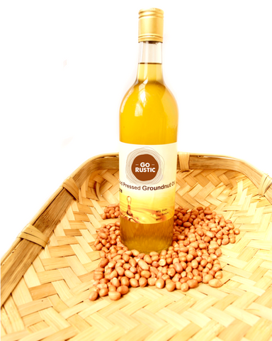Cold Pressed Groundnut Oil or Peanut Oil