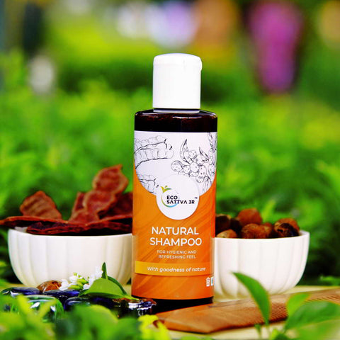 ECOSATTVA 3R : NATURAL SHAMPOO - 200ML