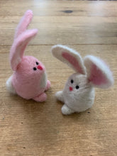 Load image into Gallery viewer, Bunny Needle Felting Zoom Class
