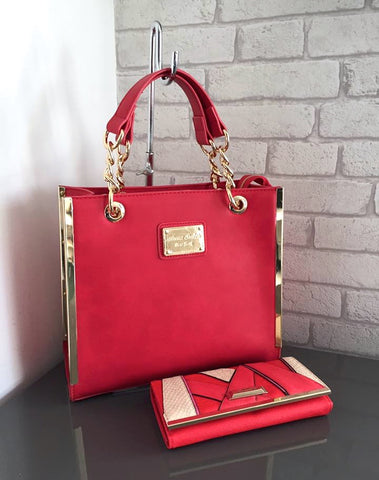 Bag Envy Connor Red Tote Bag