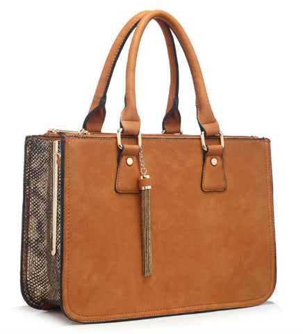 Move & Moda Tan Bag