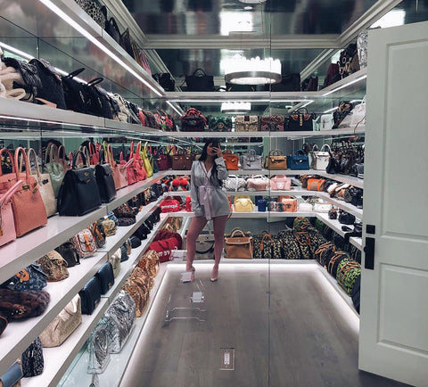 Kylie Jenner Handbag Collection