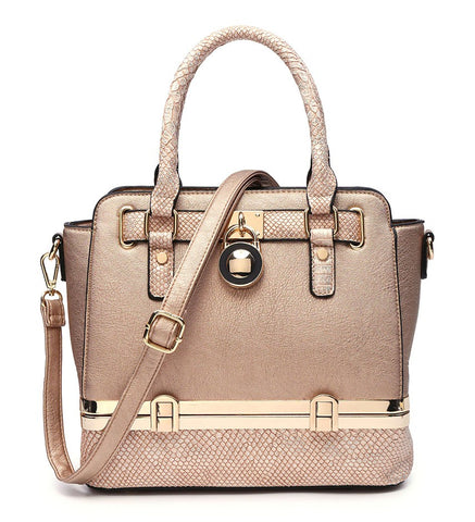 Harvey Tote Bag In Champagne
