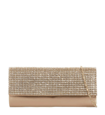 Serene Gold Clutch Bag