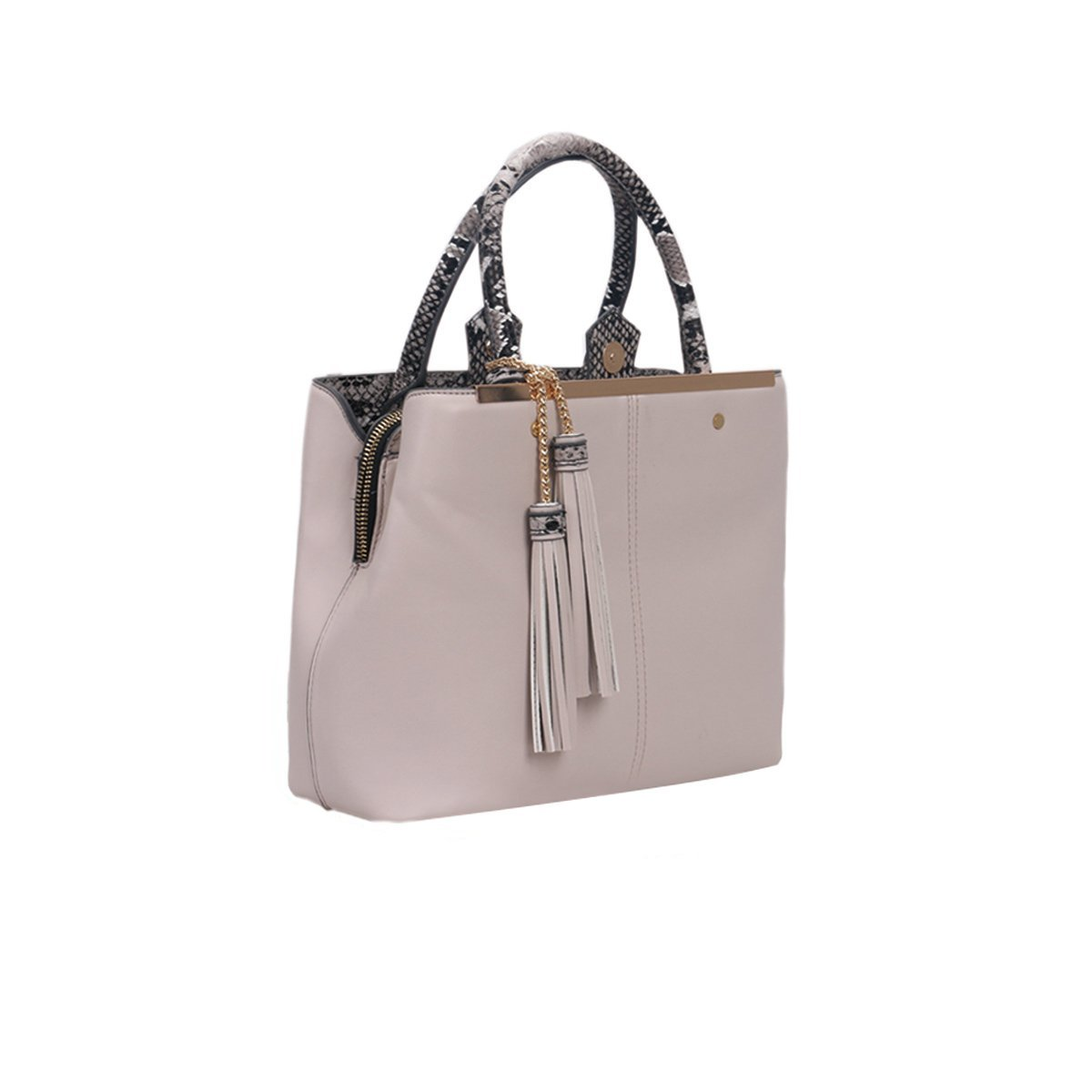 VIP LYDC Snake Tether Nude Pink Tote Bag 7e5f73a7920f0