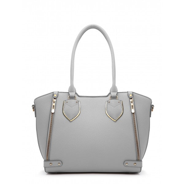 4547a7860467 Moonlight Sonata Shoulder Bag In Grey ...