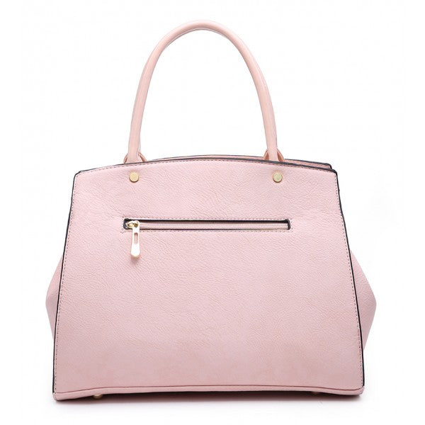 1b9bf6d3df Bow Chic Nude Pink Grab Tote Bag