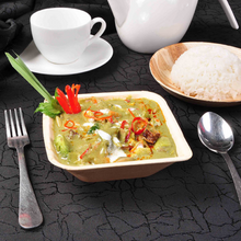"Load image into Gallery viewer, 14 x 14 cm (5.5"") Royal Square Bowl, 25 pack or 100 case - Greenovation - Eco Dinnerware"