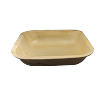 "Load image into Gallery viewer, 7""x 7""x 1.5"" Square Take out container with Lid, Case of 100 - Greenovation - Eco Dinnerware"