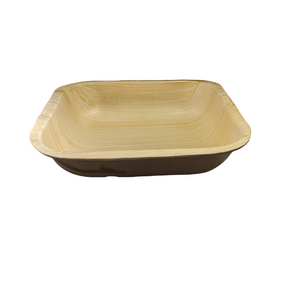 "7""x 7""x 1.5"" Square Take out container with Lid, Case of 100 - Greenovation - Eco Dinnerware"