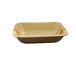 "6.5""x 5""x 1.5"" Rectangle Take out container with Lid, Case of 100 - Greenovation - Eco Dinnerware"