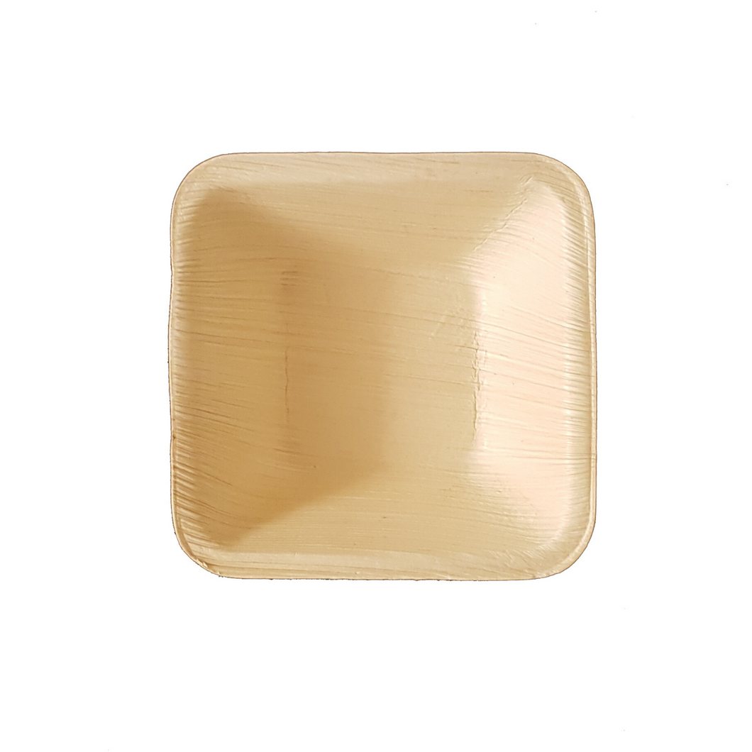 "10 x 10 cm (4"") Square Bowl, 25 pack - Greenovation - Eco Dinnerware"