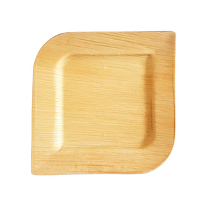 "20 x 20 cm (8"") Royal Square Plate, 25 pack or 100 case - Greenovation - Eco Dinnerware"