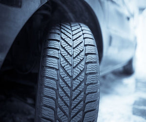 Roadside Assistance: Seasonal Tire Change At Home Service image on main page.