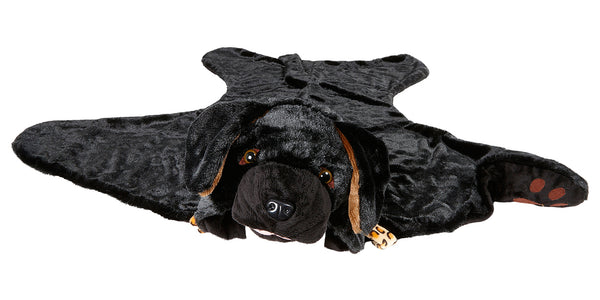 Labrador blanket black