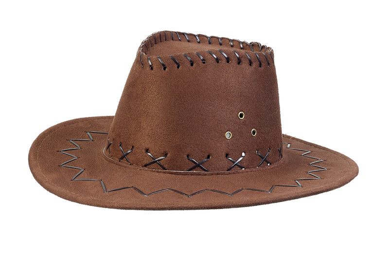 Hat Alec Cowboy, dark brown, 3-7 yrs