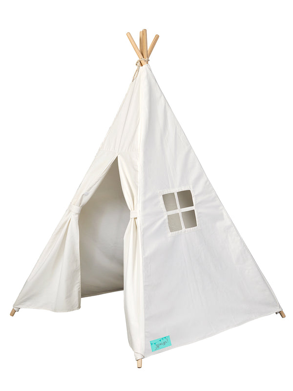 Tipi tent off white canvas