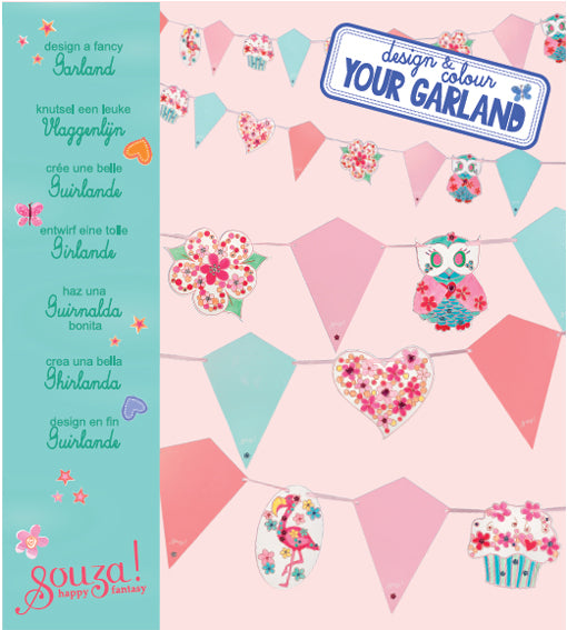 Garland design + colour kit
