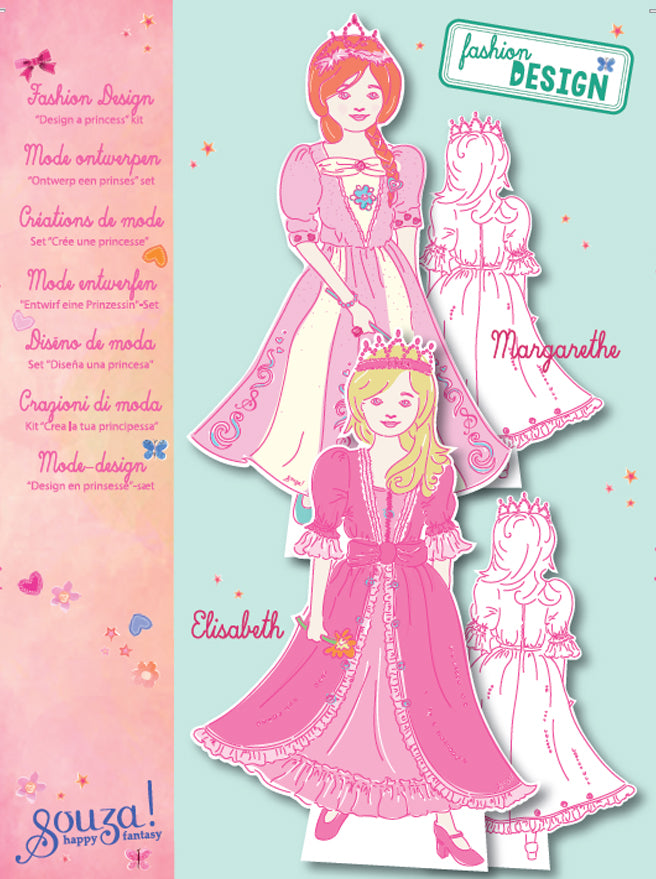 Fashion design princess kit