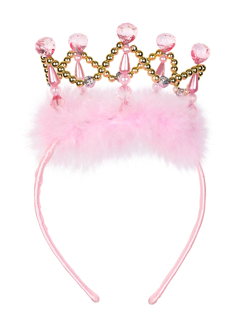 Crown Esmeralda, gold+pink