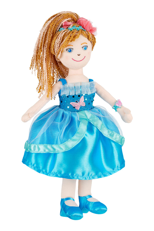 Doll Carlotte with dress blue