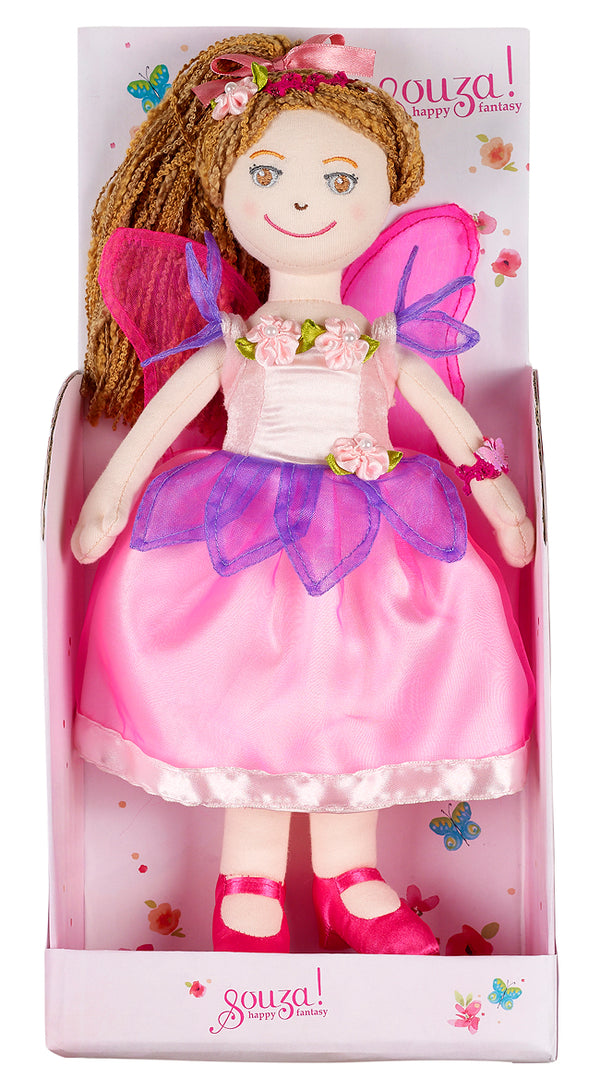 Doll Alyssandra with dress light pink