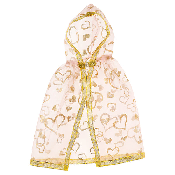 Doll costume Ellena cape, gold