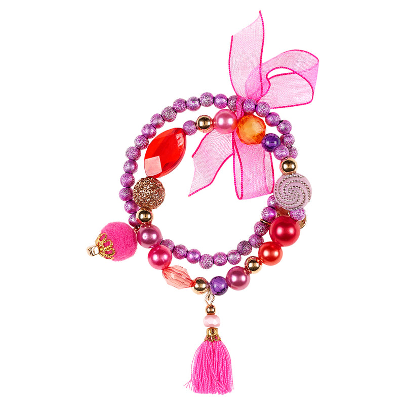 Bracelet Lexi, purple-red