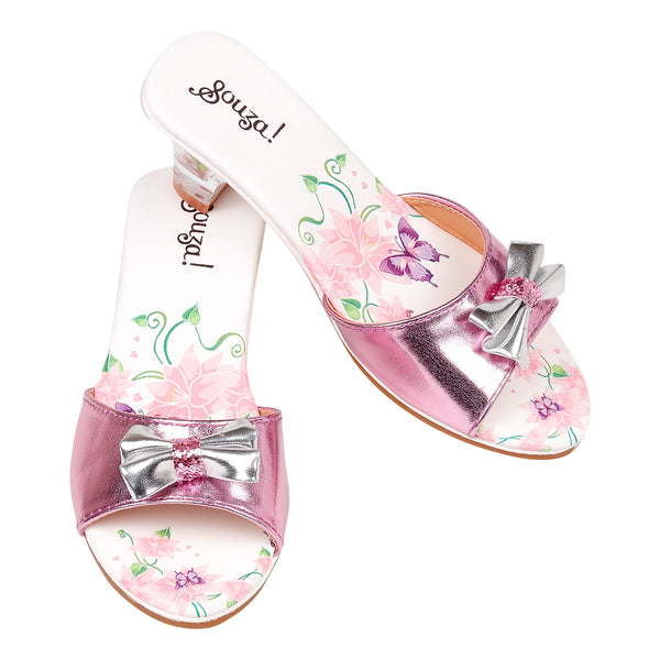 Slipper high heel Bindi, butterfly print