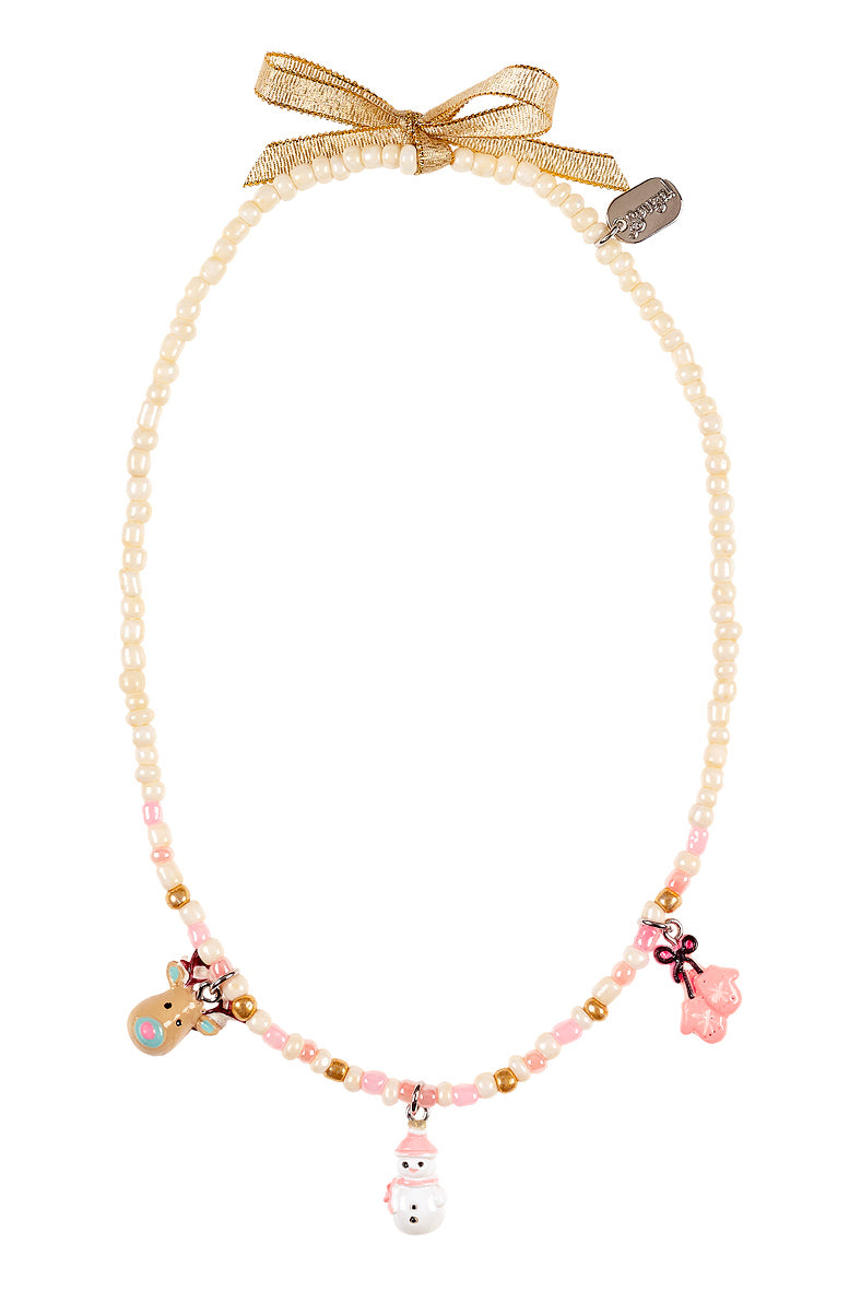 Necklace Paulina, Winter with charm, multi colour
