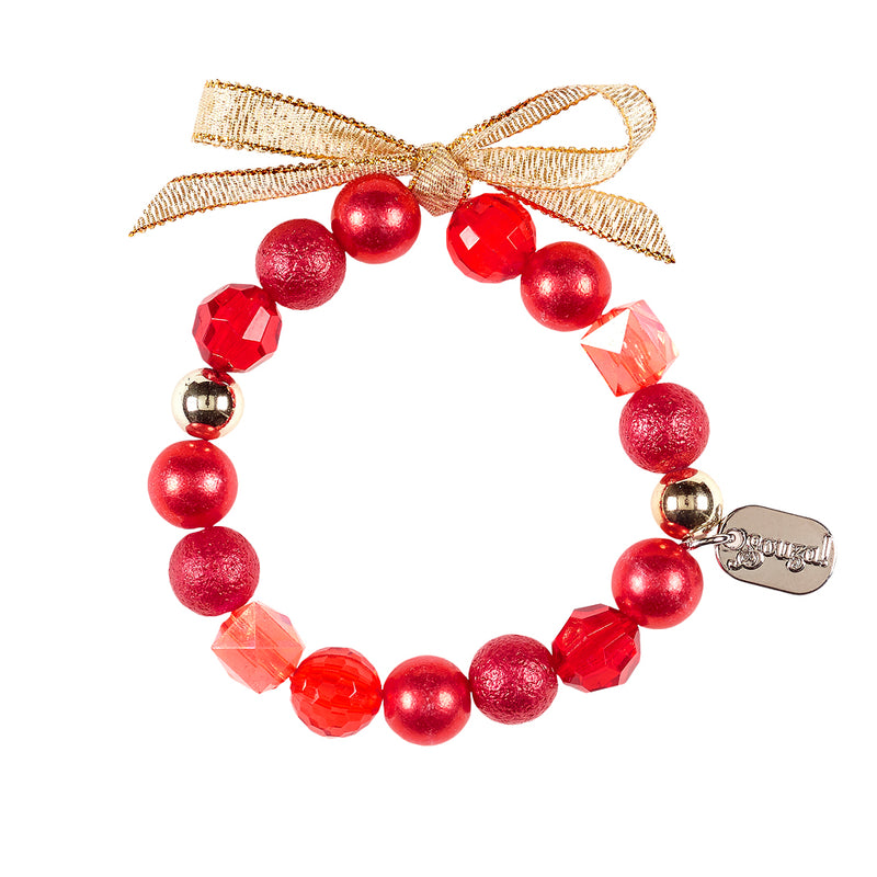 Bracelet Anka, Christmas, red