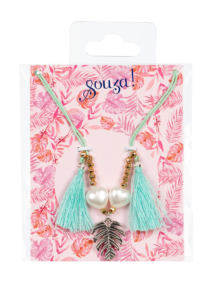 Gift pack Monica, necklace mint