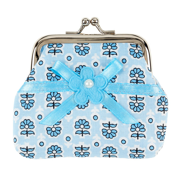 Wallet Kirsten, light blue