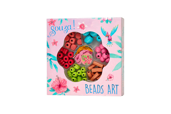 Beads activity kit flowers