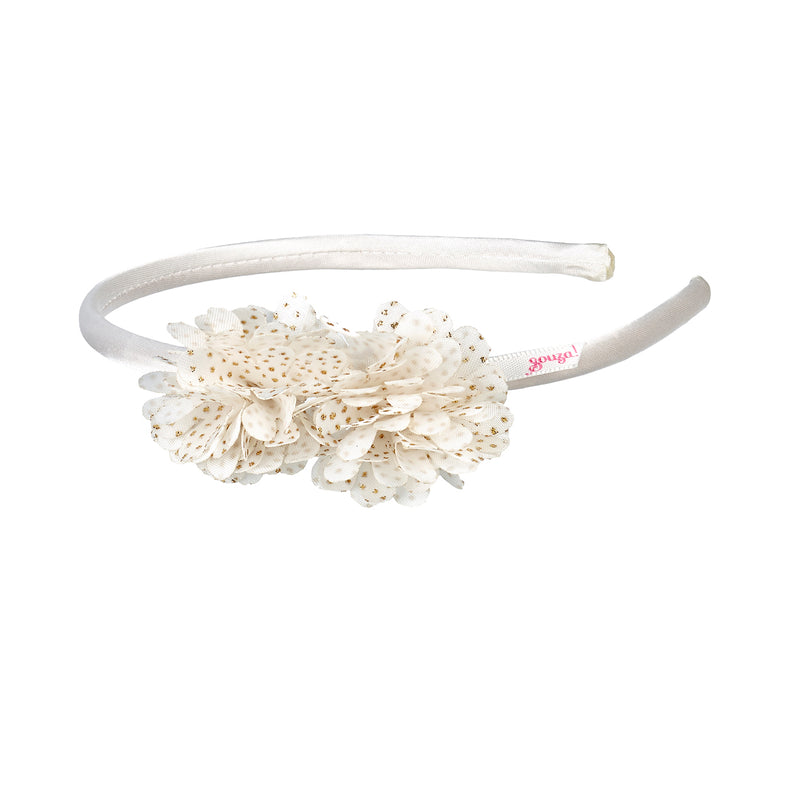 Hair band Judi, off white