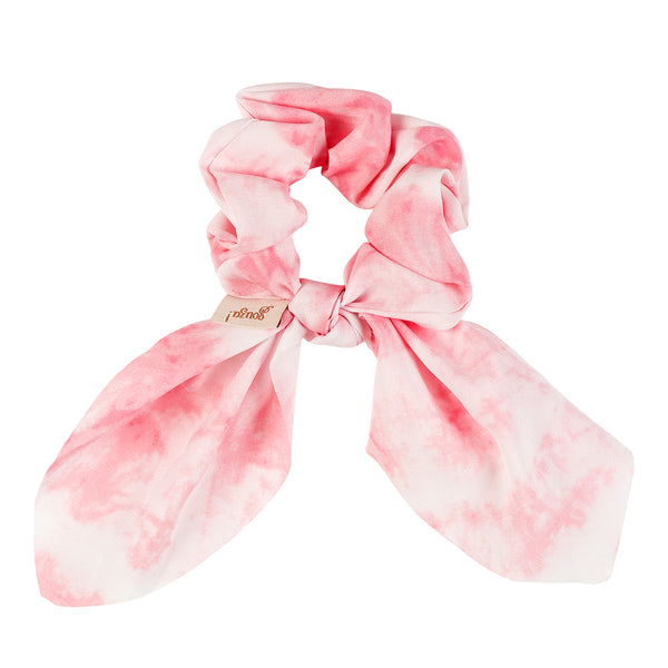 Hair  scrunchie Lise, pink