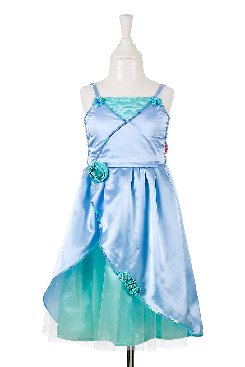 Flore dress, green-blue