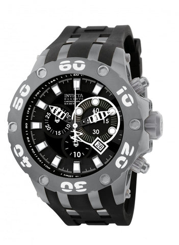 Invicta Men's 0920 Subaqua Quartz Chronograph Black Dial Watch
