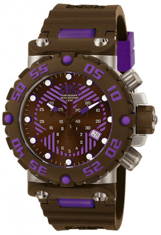 Invicta 10044 Men's Subaqua Quartz Chronograph Purple Dial Watch