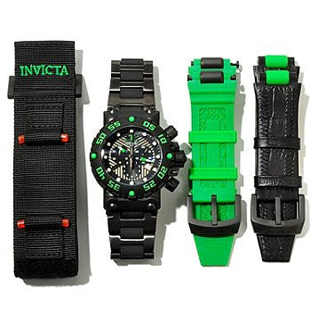 Invicta 10049 Men's Subaqua Quartz Chronograph Black Dial Watch