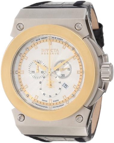 Invicta 10953 Men's Akula Quartz Chronograph Silver Dial Watch