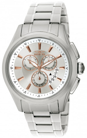 Invicta Men's 1974 Specialty Quartz Chronograph Silver Dial Watch