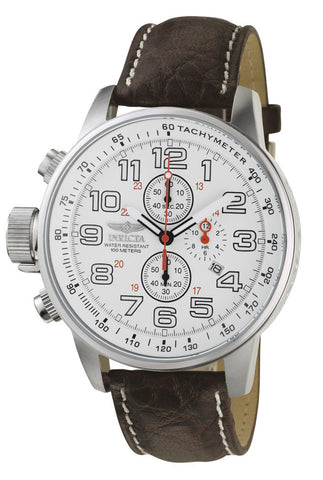 Invicta 2771 Men's Force Quartz Chronograph White Dial Watch