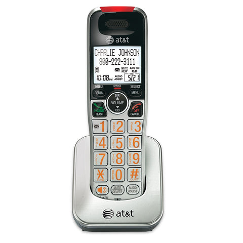 Accessory handset with Caller ID