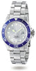Invicta Men's 4856 Pro Diver Quartz 3 Hand Silver Dial  Watch