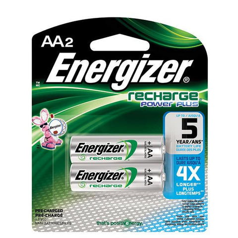 2 Pack Recharge AA Batteries