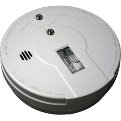 Ionization Smoke Alarm w/ Exit Light (DC)