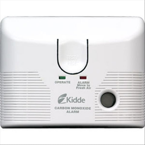 AC Powered CO Alarm, Plug-In with Battery Backup