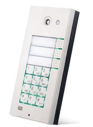 2N Helios IP 3x2 button and  keypad and  cam