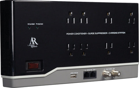 8 OUTLET, 6' HOME THEATER POWER CONDITIT